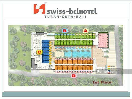 Kondominium Hotel Swiss Bel - Hotel Kuta Bali 1 St Floor Swiss Bel Hotel Kuta Bali 54503012