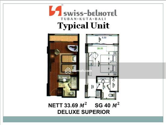 Kondominium Hotel Swiss Bel - Hotel Kuta Bali Unit Deluxe Superior Swiss Bel Hotel Kuta Bali 54503459