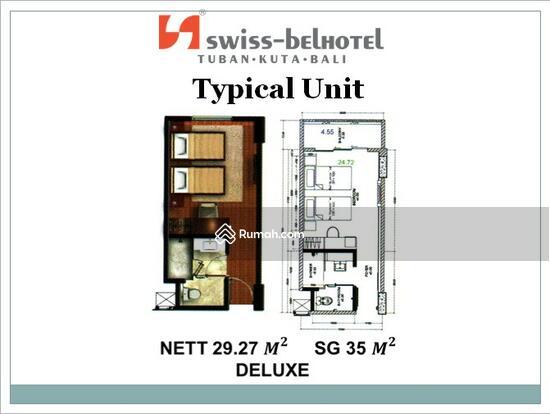Kondominium Hotel Swiss Bel - Hotel Kuta Bali Unit Deluxe Swiss Bel Hotel Kuta Bali 54503465