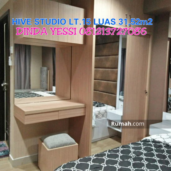 Apartemen & Condotel Tamansaei HIVE Cawang  61332323