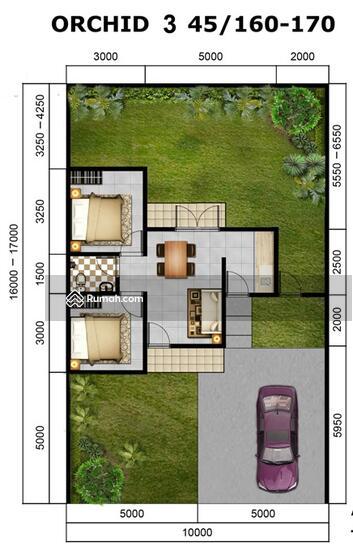 Rumah di Citra Indah City, Orchid 45/160  81741890