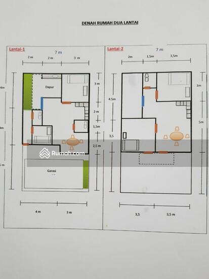 Rumah Lantai dua setu cipayung jakarta timur  83550452