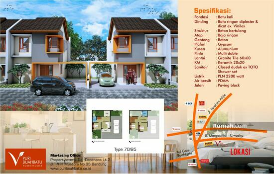 Marga Asri, Cijaura, Ciwastra, Buah Batu, Bandung Info Marketing: BOBBY 0813-2039-9455 85873841