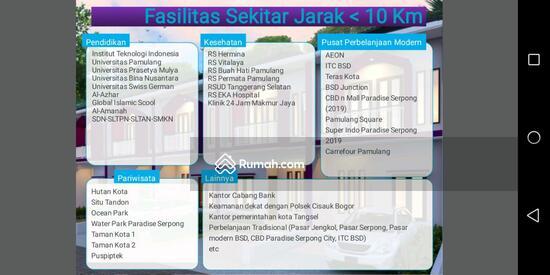 Jl. Atmaja, Bakti Jaya, Setu, Serpong - Tangerang   86647257