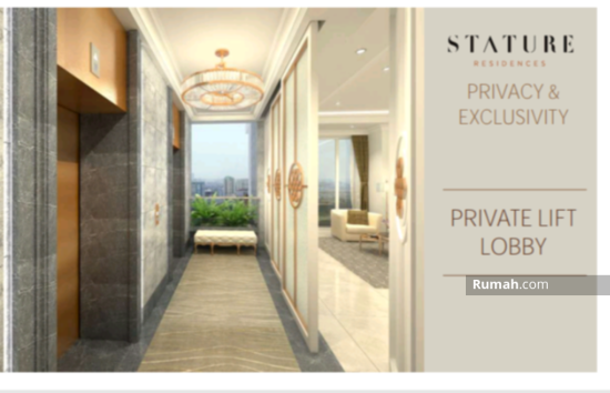 The Stature jakarta Private lift lobby 86709398