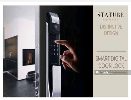 The Stature jakarta Smart Digital Doorlock 86709427