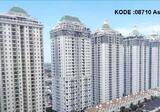 KODE :08710(As) Apartemen Dijual Fremch Walk MOI, Luas 131 Meter