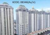 KODE: 08346 (As/Jr), Apartemen Dijual MOI, Tower Lyon Garden, Tipe 3+1 Kamar Tidur