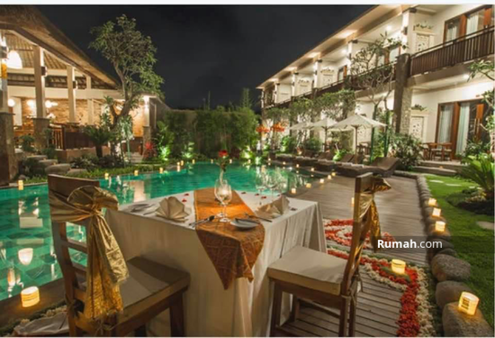 Villa resort hotel melati dijual ubud bali gianyar dkt central  96903610