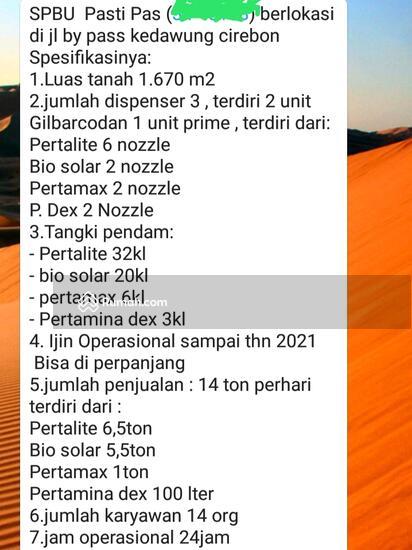 SPBU Jl.Brigjen Darsono Kedawung  97858999