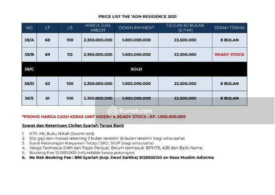 The ADN Residence Condet Sisa 2 Unit Runah 3 Lantai Exclusive di Condet Balekambang Kramat Jati Jaka  103045775