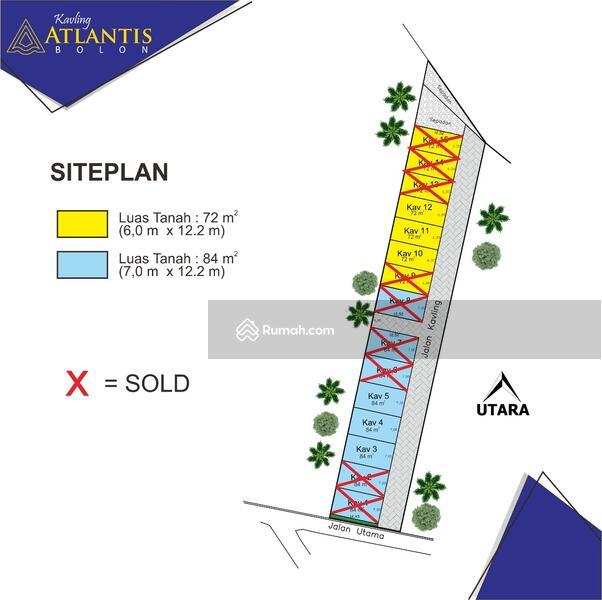 Tanah kavling Exclusive lokasi dekat Bandara dan kota Solo #106166352