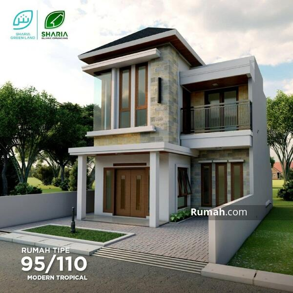 Rumah 2 Lantai Bebas Riba Harga Murah #106486527